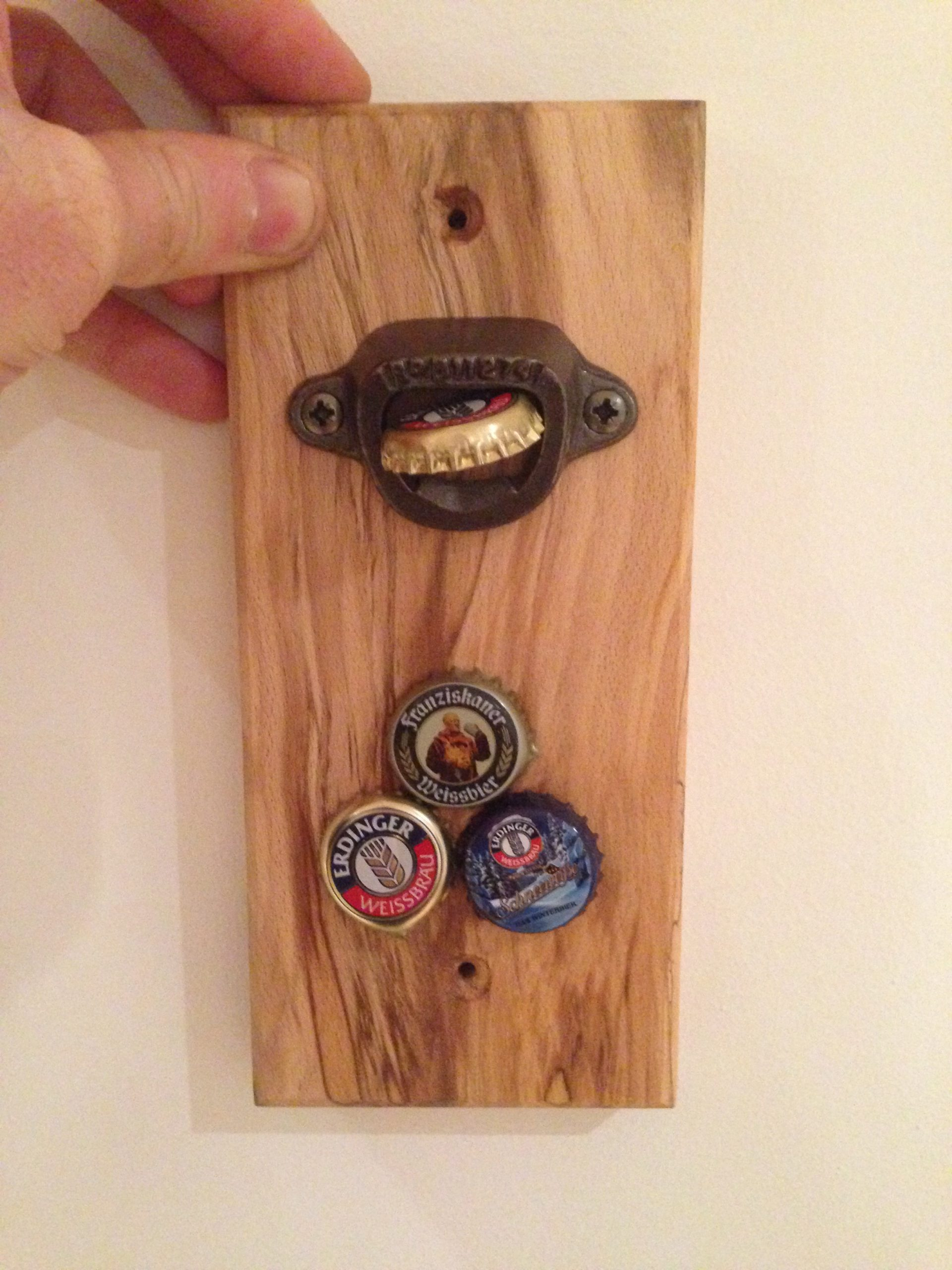 Image of: Wall Mounted Bottle Opener Copper Coast Woodcrafts